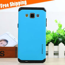 shockproof hybrid slim armor case for Samsung galaxy A5 pc silicone combo hard mobile back cover case