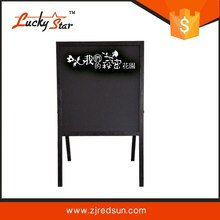 free standing acrylic 2 sided picture frames poster display board stands ,double sided poster display stands