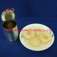 Best quality Cheap price canned pear halves in light syrup