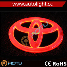 4D Led Logo Bulb Custom Car Emblem Badge Logo for all brand car