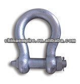 marine rigging hardware adjustable lifting shackle with screw pin