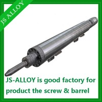 Nitrided screw and barrel/ screw and barrel for plastic extruder machine