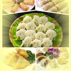 automatic dumpling machine samosa leaf mould cutter molds of samosa spring rolls maker machine manufacture