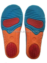 2015 High quality rubber eva shoes insole sport with good flexibility