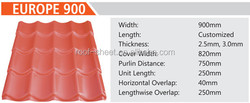 roof tile insulation material