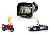 Best Quality 4.3 inch Moto GPS navigation motorcycle + waterproof IPX7 + 4G flash +high light screen+ free maps