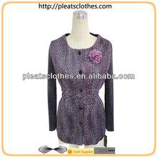 El último diseño de doble- de la cubierta las mujeres blusa 2013