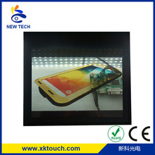 70 inch transparent led display screen with HDMI/DVI/VGA input