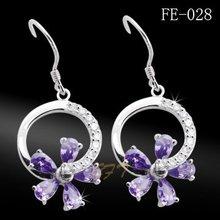 jewelry, silver earring