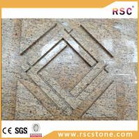Sandy gold granite