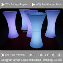 Hotsales Cheap Cocktail Table Illuminated LED Club Furnishing