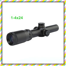 CS1-075 NEW Rifle Scope 1-4X24 Scopes Tactical Optical Sight Outdoor Hunting Riflescope