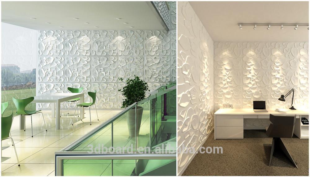 Gracioso placa 3d decoração da parede ambiental para os projectos sobre as vendas