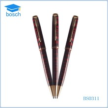 Businness Office Gifts metal twist ball pen red metal pen