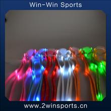 6th generation Colorful Flashing light up Nylon LED shoelaces