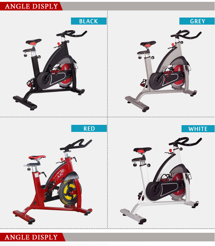 Portable Spin bike in gym club bikes price