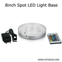KITOSUN Patent Hookah Shisha Accessory 6inch Led Light Base Coaster For Hookah