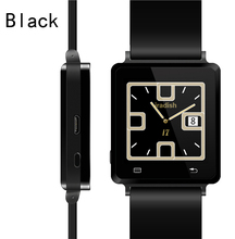 2014 New Product High Quality Watch iradish i7 Bluetooth Smart Watch With FM Radio Pedometer (Black/Silver)