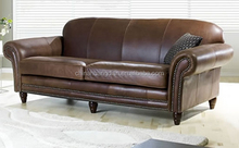 import leather sofa modern furniture sofa HDS1415