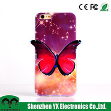 3d color changing cell phone cases for iphone6plus cases
