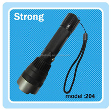 200 lumen led rechargeable flashlight with charger