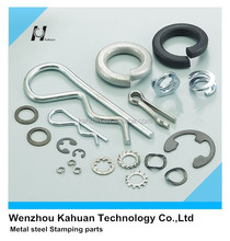 Retaining clip lock pin