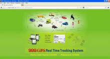 GPS tracking platform online google map