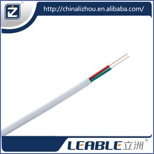 BVVB flat double solid core mechanic wire cable