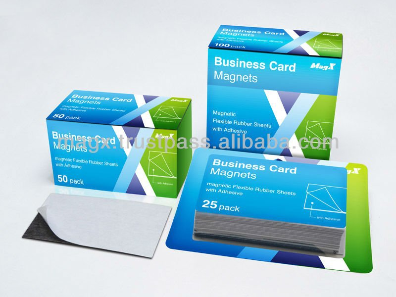 Business Card Magnets 50 Count Box Made By Japan Buy