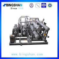 250kw Industrial Open Type Dual-stage Screw Ammonia Refrigeration Compressor
