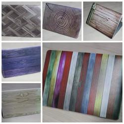 Wood Grain DIY Laptop Decal Sticker Protective Case Full Skin For MacBook Air Pro Retina 11 12 13 15inch