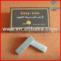 9x2.5x1.2cm Smokeless magic shisha coal