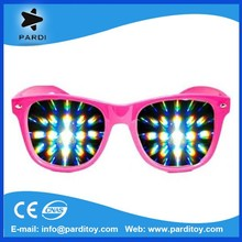 Party fireworks diffraction glasses plastic diffraction glasses