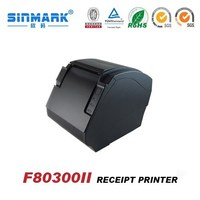 portable barcode label 80mm dot matrix receipt printer