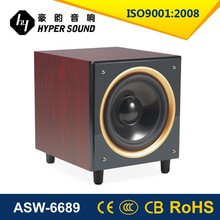 Professional 10 innch active home theatre subwoofer