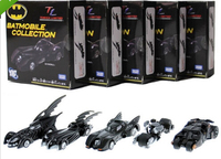 DC Batman Set 5 cars Batmobile Collection