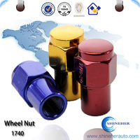 High quality mag wheel nuts m14x1.5 for car