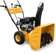 6.5hp 4.8KW/196cc 2 wheels snow thrower ,strong snow cleaning machine equipment