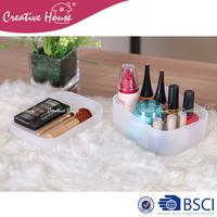 Storage Boxes & Bins home storage organization Plastic PP Storage box desk organizer set with lid cover