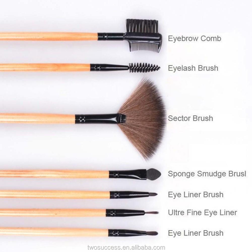24pcs Cosmetic Makeup Brushes Set Professional Foundation Makeup Sets