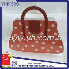 Dotted Shaped Fashion Handbag Marilyn Monroe Paper Bag for girls