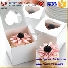 custom design box cupcake from China food packaging factory