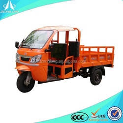 china ZONLON adult cargo tricycle with cabin
