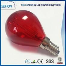 red led bulbs for top of wall light decoration 12v-24v led filament bulbs e27 globle led light bulbs 3w