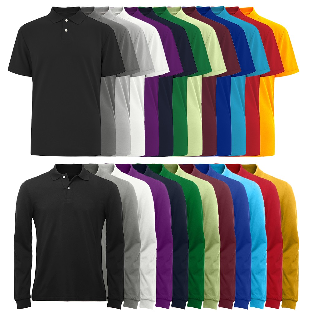 OEM-Colorfast-Preshrunk-Cotton-Custom-Mens-Polo