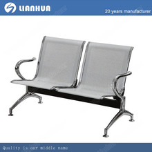 Cheap Public furniture stainless steel waiting chair on hot sell