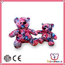 hermosa hecha a mano de encargo de peluche de juguete osito de peluche al por mayor de la felpa oso