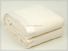 Plain color acyrlic cotton polyester mixed woven blanket throws