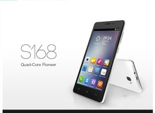 5 inch CUBOT S168 Android 4.4 MTK6582 Quad Core 1GB RAM 8GB ROM GPS WIFI 2.0MP/5.0MP 3G WCDMA mobile cell phone