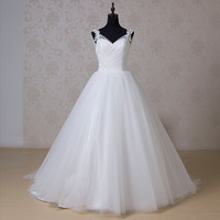 SZRR1518 Online Shop Cap Sleeve Taobao White Cheap Alibaba Latest Wedding Gown Princess Wedding Dresses Long Train